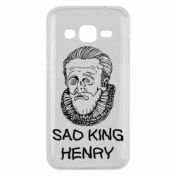 Чехол для Samsung J2 2015 Sad king henry