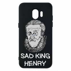 Чехол для Samsung J2 2018 Sad king henry