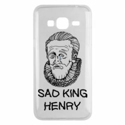 Чехол для Samsung J3 2016 Sad king henry