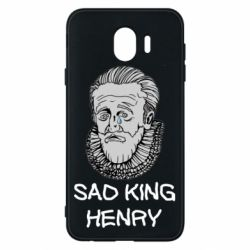 Чехол для Samsung J4 Sad king henry