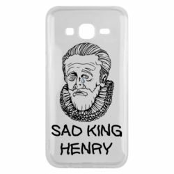 Чехол для Samsung J5 2015 Sad king henry
