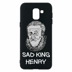 Чехол для Samsung J6 Sad king henry