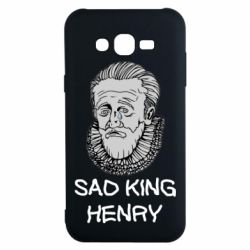 Чехол для Samsung J7 2015 Sad king henry
