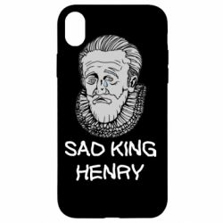 Чехол для iPhone XR Sad king henry