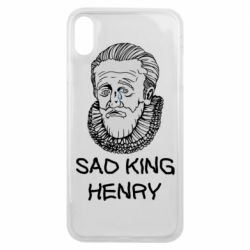 Чехол для iPhone Xs Max Sad king henry