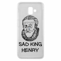 Чехол для Samsung J6 Plus 2018 Sad king henry