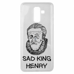 Чехол для Samsung J8 2018 Sad king henry