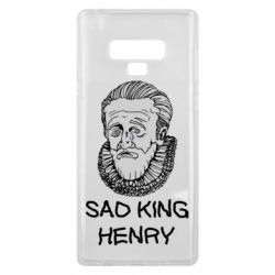 Чехол для Samsung Note 9 Sad king henry