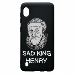 Чехол для Samsung A10 Sad king henry