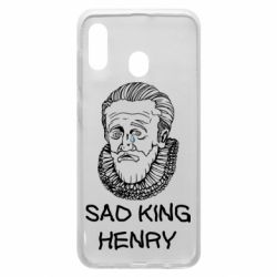 Чехол для Samsung A20 Sad king henry