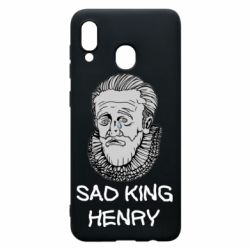 Чехол для Samsung A30 Sad king henry