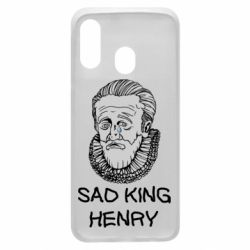 Чехол для Samsung A40 Sad king henry