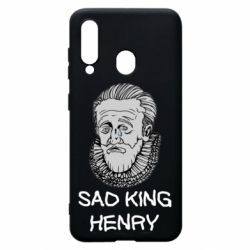 Чехол для Samsung A60 Sad king henry