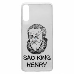 Чехол для Samsung A70 Sad king henry