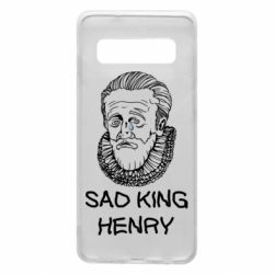 Чехол для Samsung S10 Sad king henry