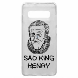 Чехол для Samsung S10+ Sad king henry