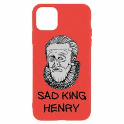Чехол для iPhone 11 Sad king henry