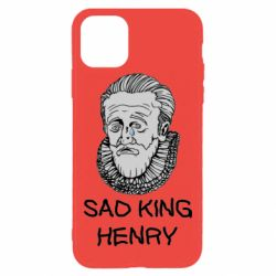 Чехол для iPhone 11 Pro Max Sad king henry
