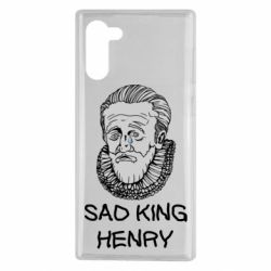 Чехол для Samsung Note 10 Sad king henry