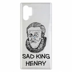 Чехол для Samsung Note 10 Plus Sad king henry