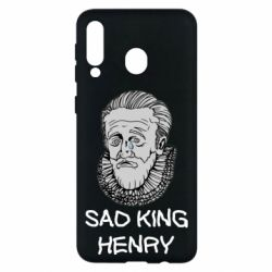 Чехол для Samsung M30 Sad king henry