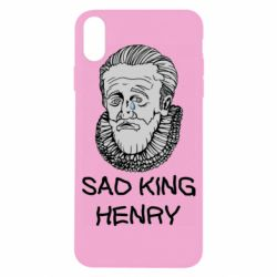 Чехол для iPhone X/Xs Sad king henry