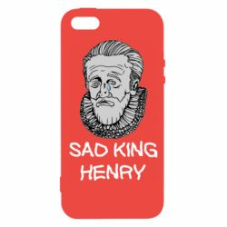 Чехол для iPhone5/5S/SE Sad king henry