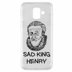 Чехол для Samsung A6 2018 Sad king henry