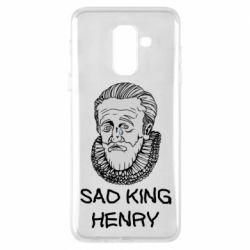 Чехол для Samsung A6+ 2018 Sad king henry