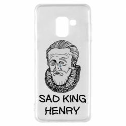 Чехол для Samsung A8 2018 Sad king henry