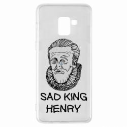 Чехол для Samsung A8+ 2018 Sad king henry