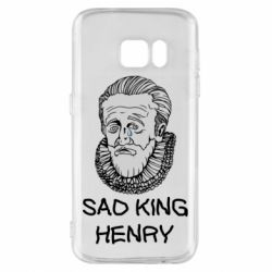 Чехол для Samsung S7 Sad king henry