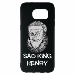 Чехол для Samsung S7 EDGE Sad king henry