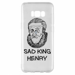 Чехол для Samsung S8+ Sad king henry