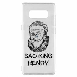 Чехол для Samsung Note 8 Sad king henry