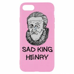 Чехол для iPhone 8 Sad king henry