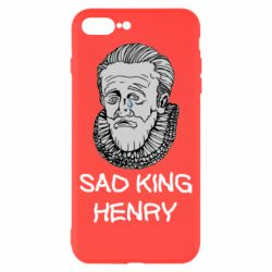 Чехол для iPhone 8 Plus Sad king henry