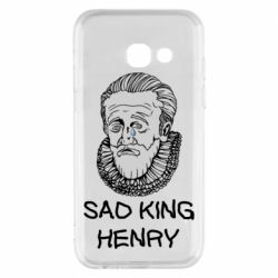 Чехол для Samsung A3 2017 Sad king henry