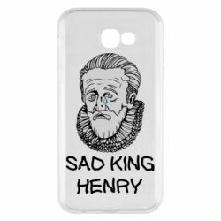 Чехол для Samsung A7 2017 Sad king henry