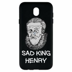 Чехол для Samsung J7 2017 Sad king henry