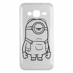 Чохол для Samsung J3 2016 Sad minion