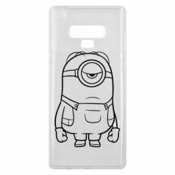 Чохол для Samsung Note 9 Sad minion