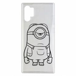 Чохол для Samsung Note 10 Plus Sad minion