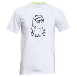 Чоловіча спортивна футболка Sad minion
