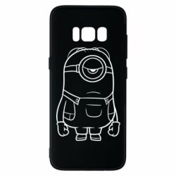 Чохол для Samsung S8 Sad minion