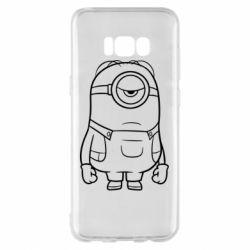 Чохол для Samsung S8+ Sad minion