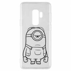 Чохол для Samsung S9+ Sad minion
