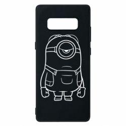 Чохол для Samsung Note 8 Sad minion