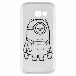 Чохол для Samsung A5 2017 Sad minion