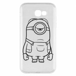 Чохол для Samsung A7 2017 Sad minion